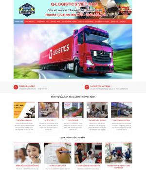 Thiết kế web dịch vụ vận chuyển
