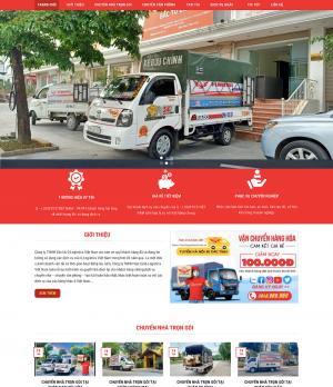 Thiết kế website vận chuyển nhà Q – Logistics
