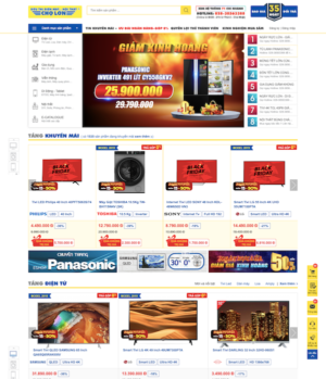 Thiết kế web điện máy chợ lớn