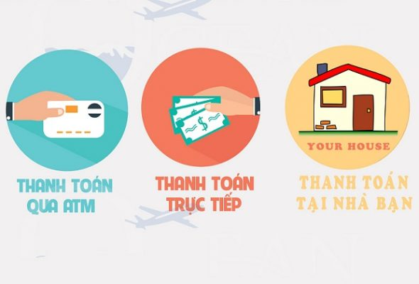 Hình thức thanh toán website tại Web Thanh Hoá