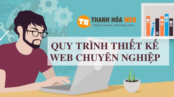 Quy trình thiết kế website chuyên nghiệp tại Web Thanh Hoá