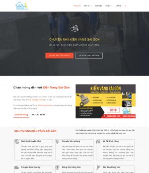 Giao diện web dịch vụ vận chuyển