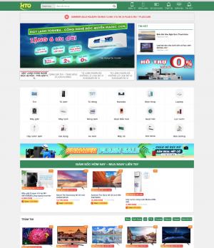 Giao diện web điện máy