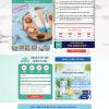 Website landing page thuốc tiểu đường