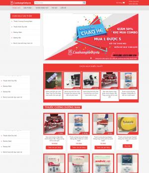 Thiết kế website bán sextoy